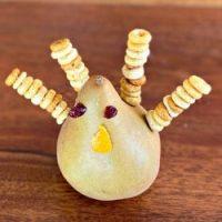 Thanksgiving Turkey Pear