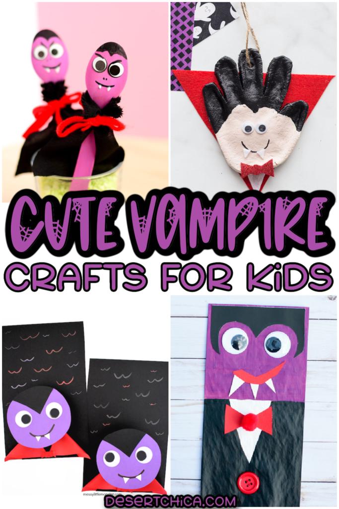 Vampire crafts pictured